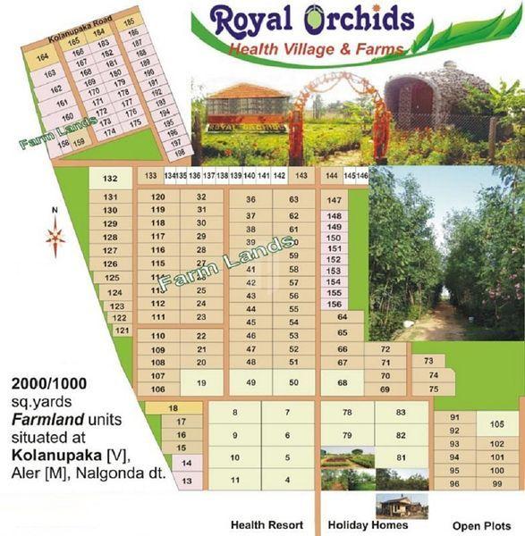 Royal Orchid Farmlands - Master Plans