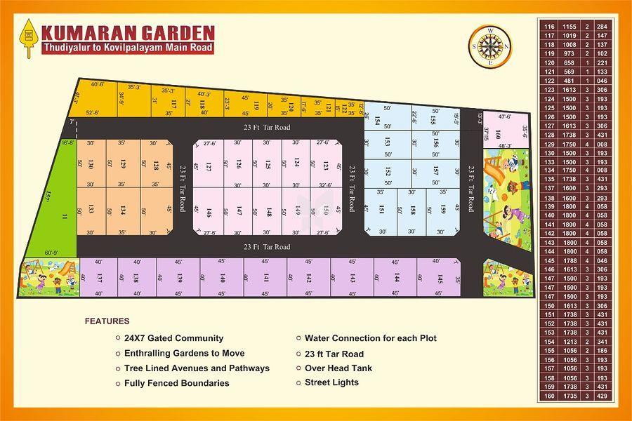 Kumaran Garden - Master Plans