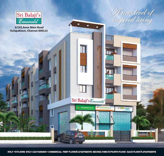 Sri Balaji's Emerald - Project Images