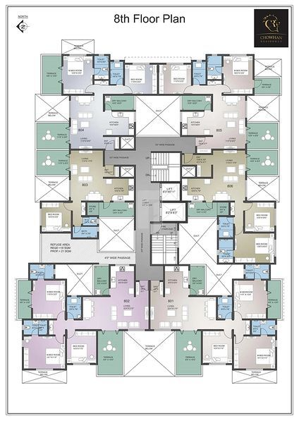 Lifestile Chowhan Residency - Floor plan