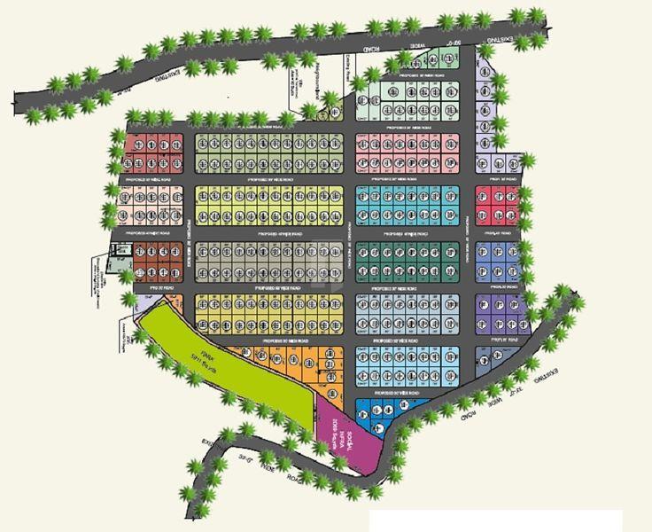 Sri Sai Panchavati County - Master Plans