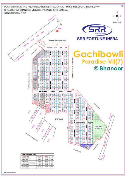Gachiboli Paradise Phase-7 - Master Plans