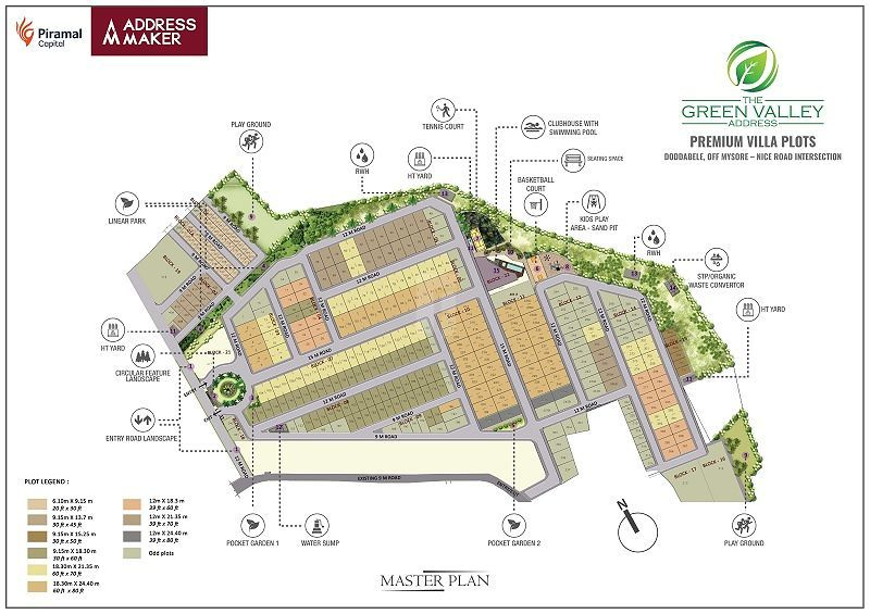 The Green Valley Address - Master Plans