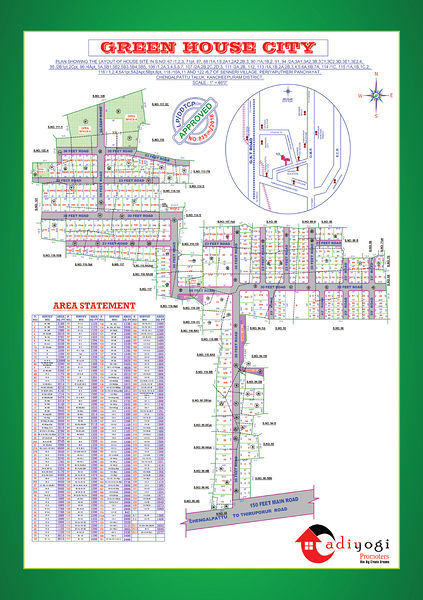 Green House City - Master Plans
