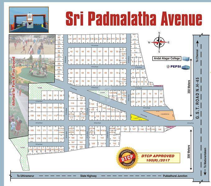 Sri Padmalatha Avenue - Master Plans