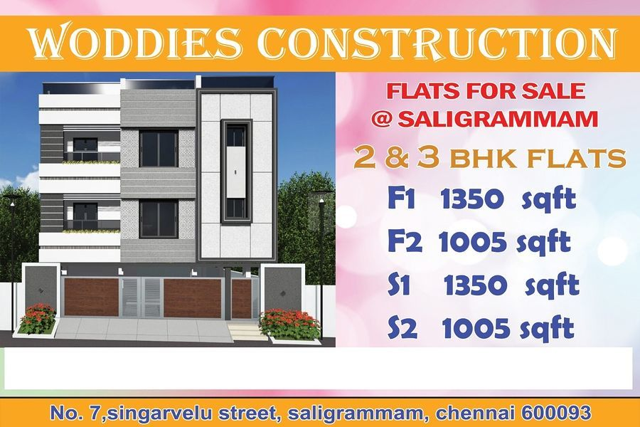 Woddies saligramam flats - Project Images