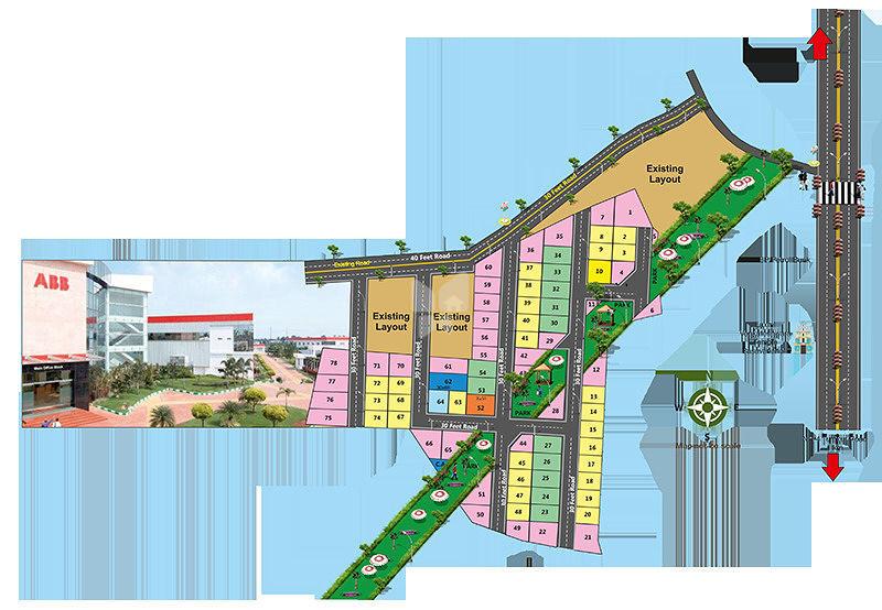 Sharanya Residency - Master Plan