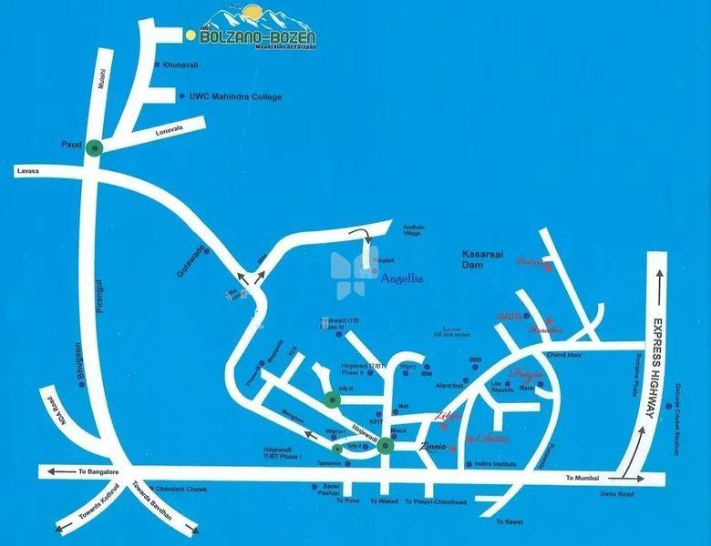 FDCC Bolzano Bozen phase II - Location Maps