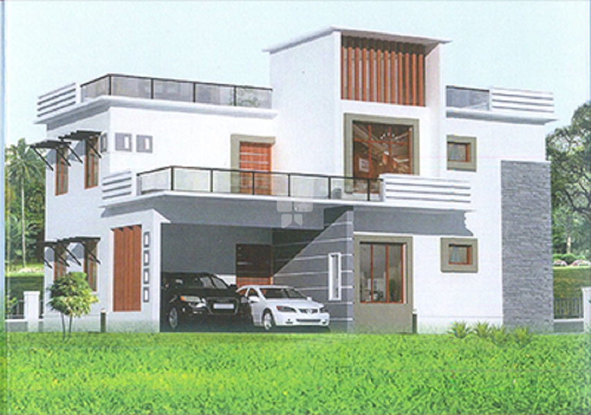 Vanavil Thirumeni Nagar House - Elevation Photo