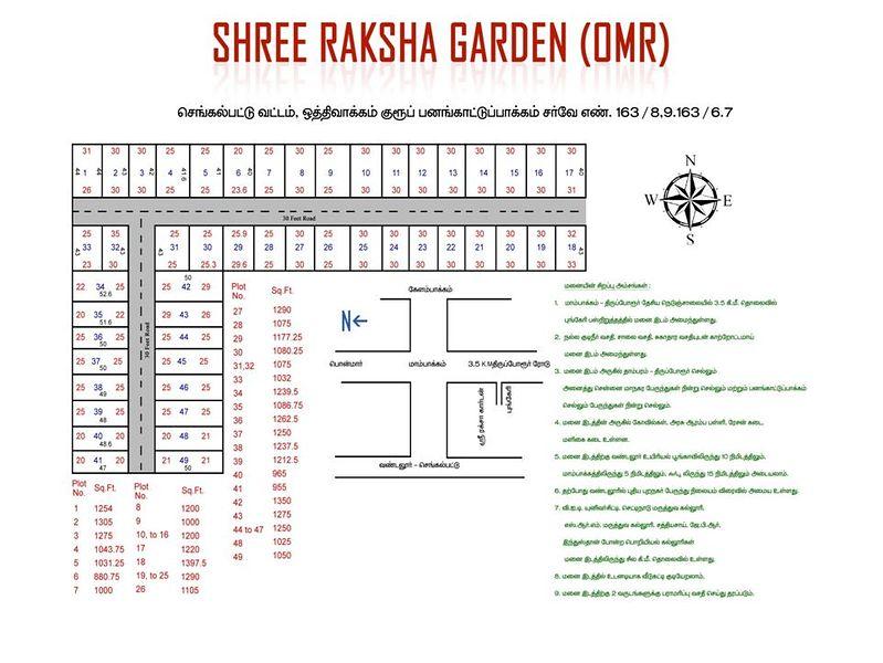 Sri Raksha Garden - Master Plans