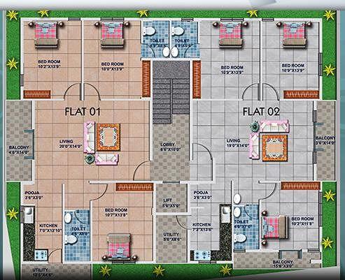 Tirumala Vikas In Chandra Layout Bangalore Price Floor Plans Photos At Roofandfloor