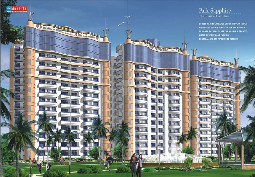 Sethi Max City Park Sapphire - Elevation Photo