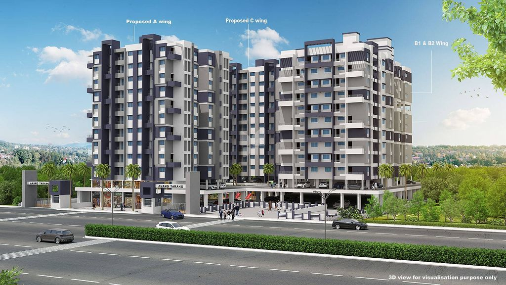 Lunkad Anand Tarang C Building - Project Images