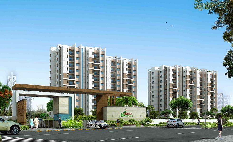 Krishnaja Northcity - Elevation Photo