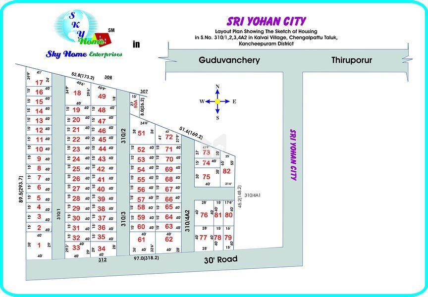 Sky Sri Yohan City - Master Plan