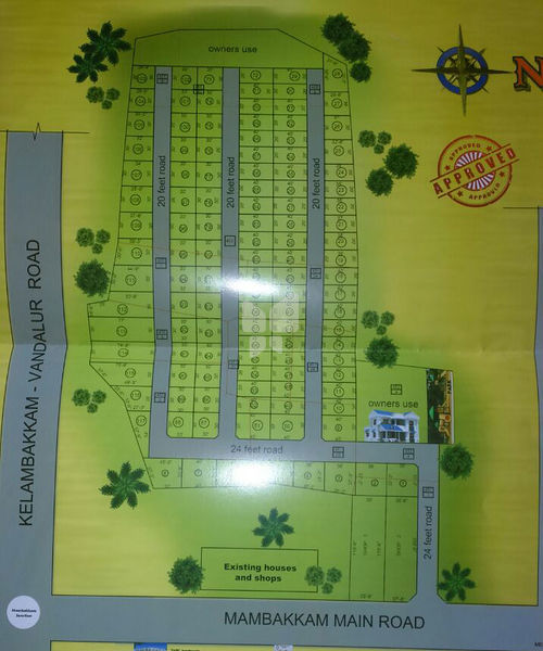 Subhamangala Nagar - Master Plan