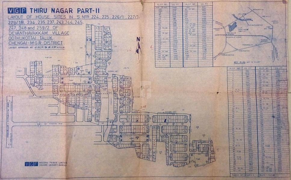 VGP Thirunagar - Master Plans