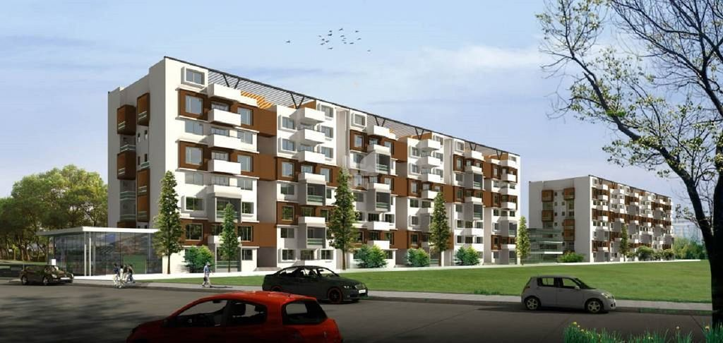 Srinivasa Sai Poorna Luxuria - Elevation Photo