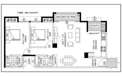gopalan-lake-front-in-electronic-city-floor-plan-2d-kbi