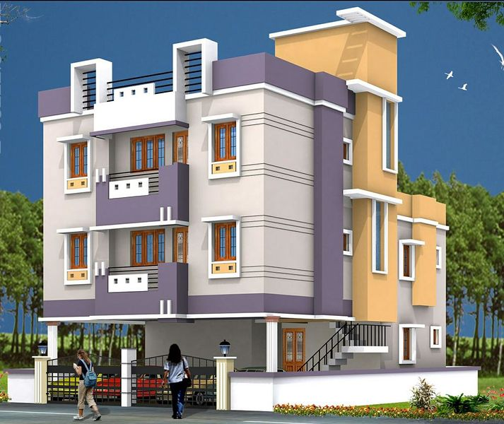 Top Of Bottom Floor Elevation Certificate : Shubham estates velachery in chennai