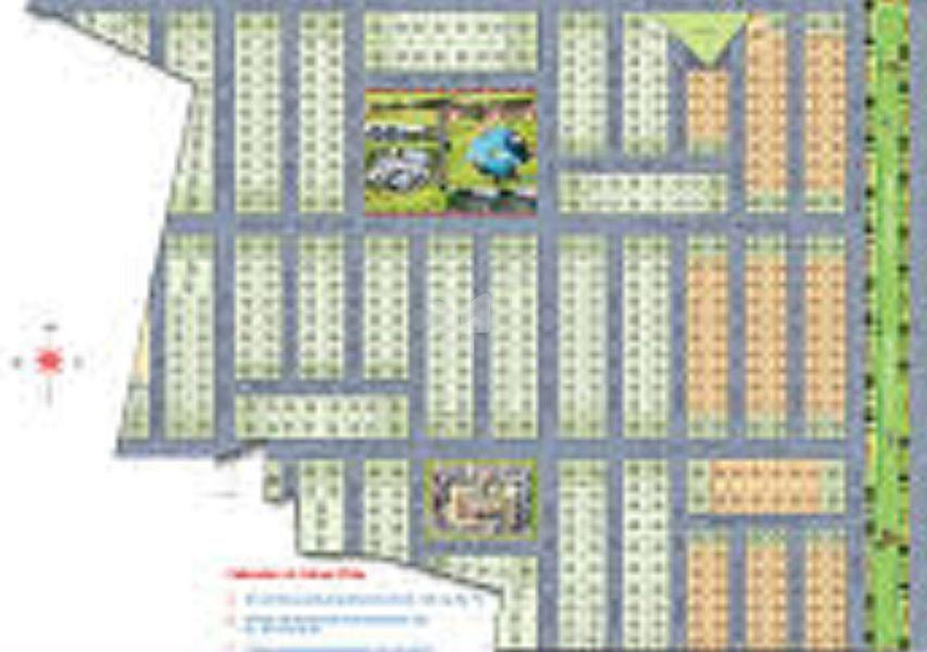 DRR Aims Bhagyanagar Residency - Master Plans