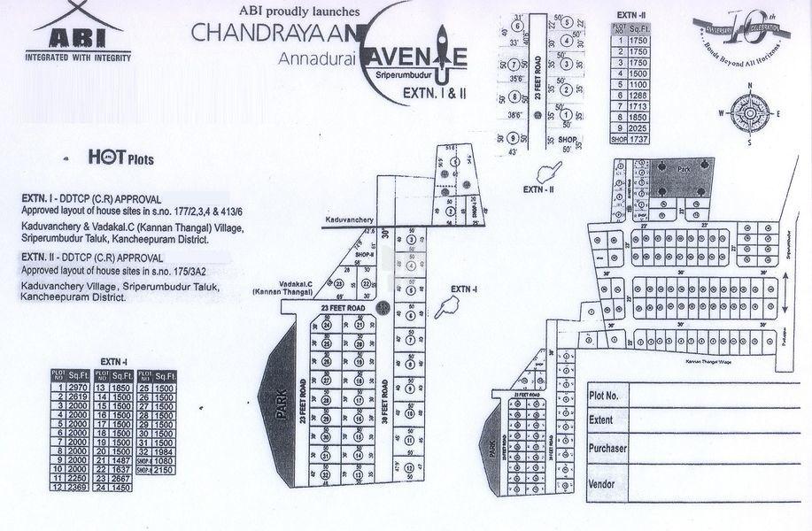 ABI Chandrayaan Annadurai Avenue - Master Plans