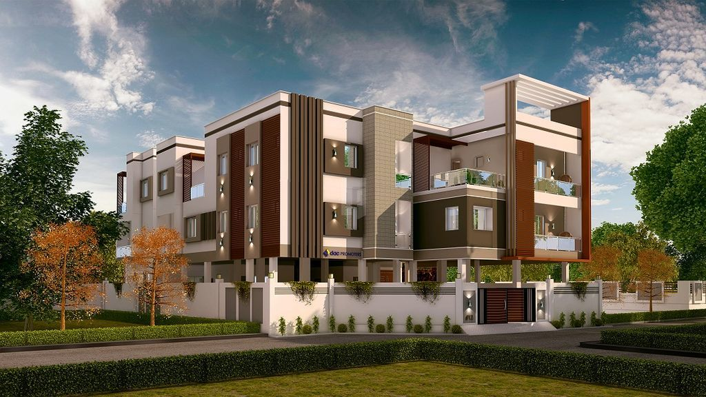 DAC Manavi & Manjari - Elevation Photo