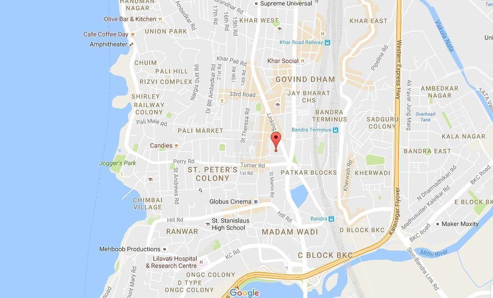 Dattani Vastu - Location Maps