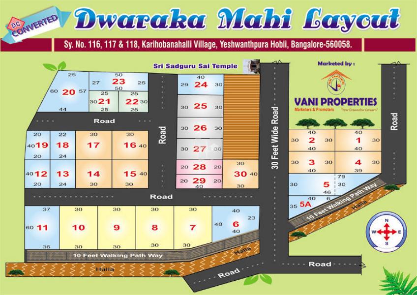 Dwaraka Mahi Layout - Master Plan
