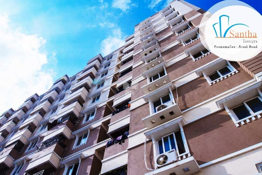 Omshakthy Santha Towers Phase I - Elevation Photo
