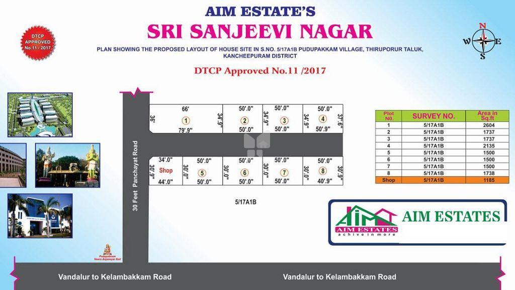 Sri Sanjeevi Nagar - Master Plans
