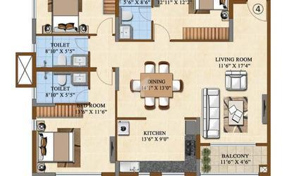 salarpuria-sattva-divinity-in-mysore-road-floor-plan-2d-til