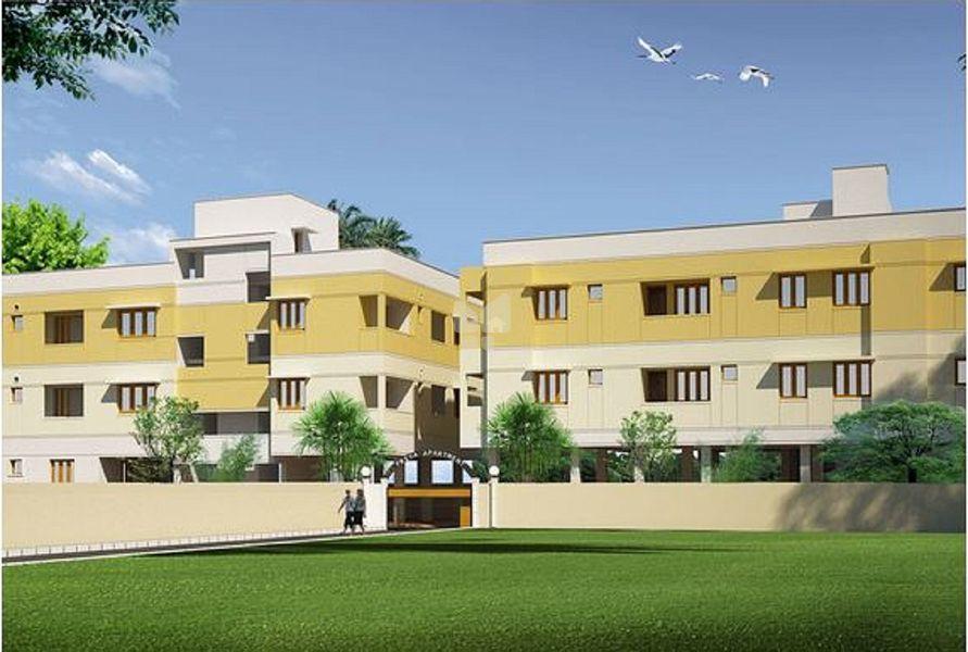 KV Priyaa Apartment - Elevation Photo