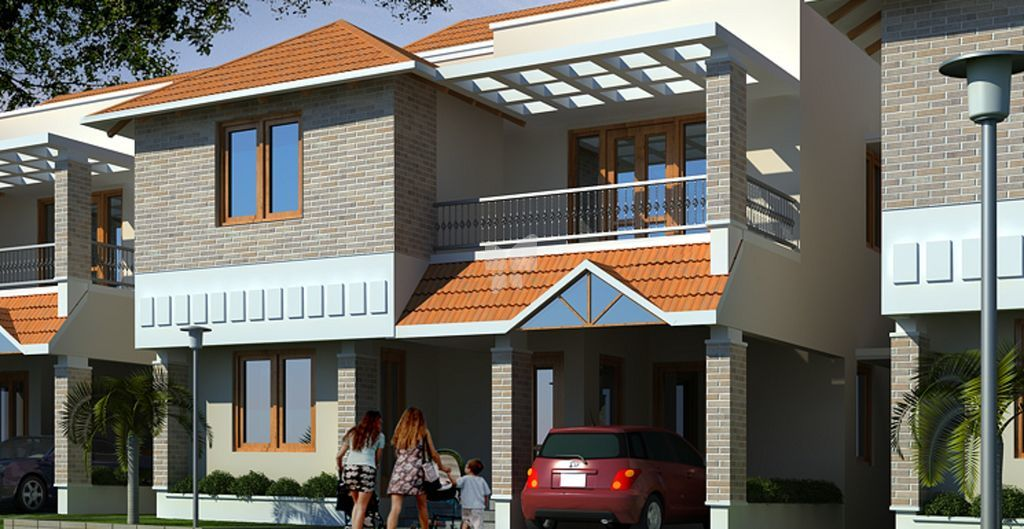 Ieglo Krishna Kuteer White House Phase 2 - Elevation Photo