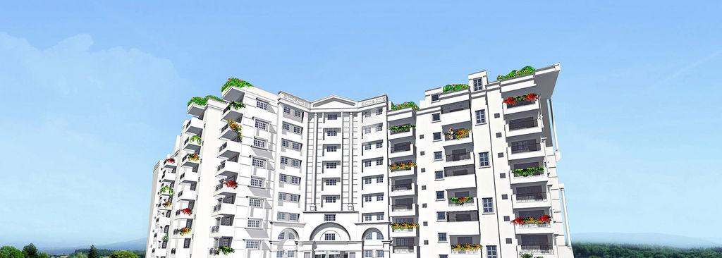 Mantri Pride - Elevation Photo