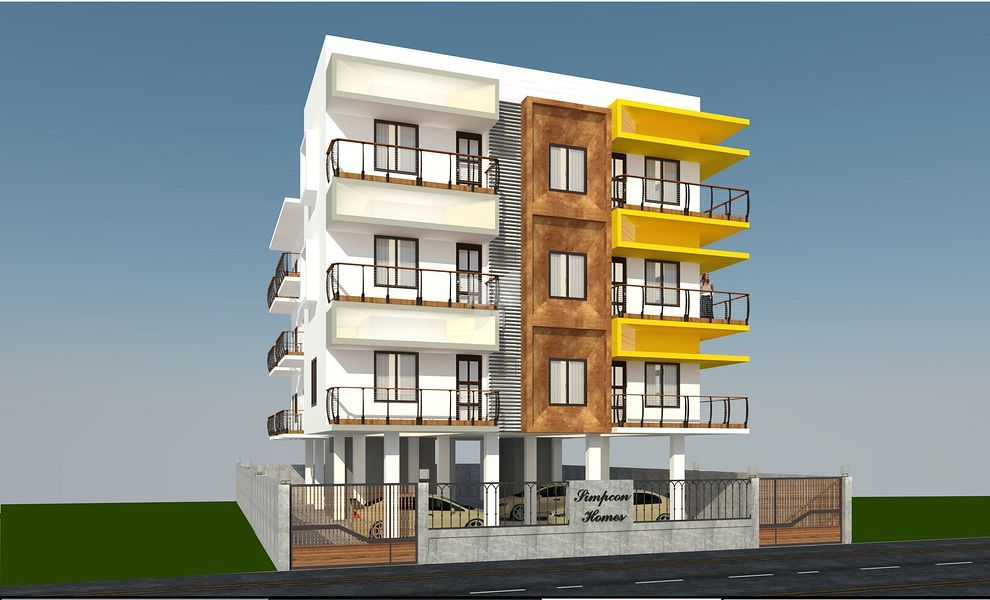 Karan Simpcon Homes Adyar - Elevation Photo