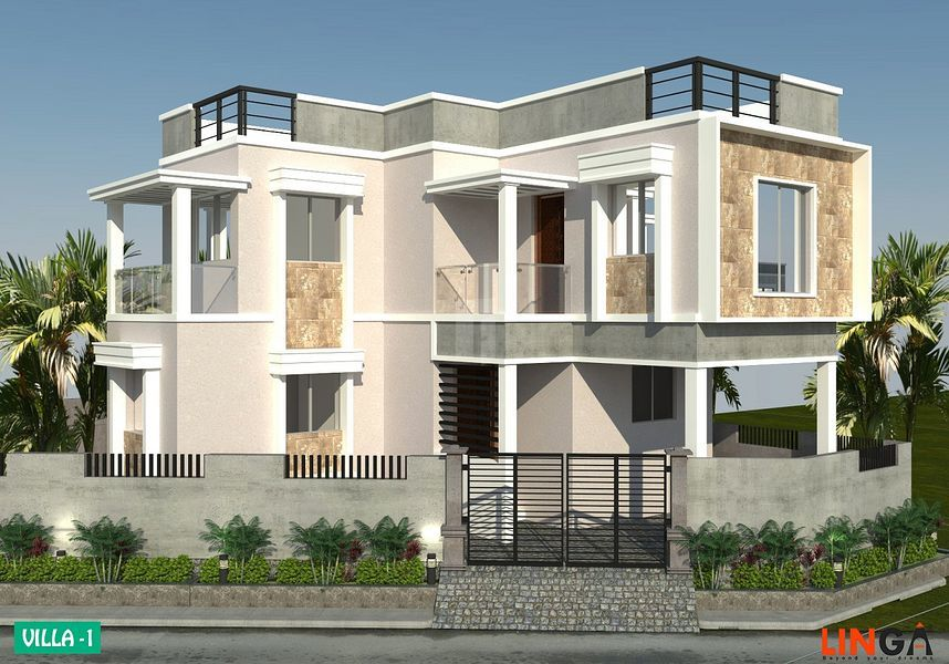 Shubh Ratna Villas - Elevation Photo