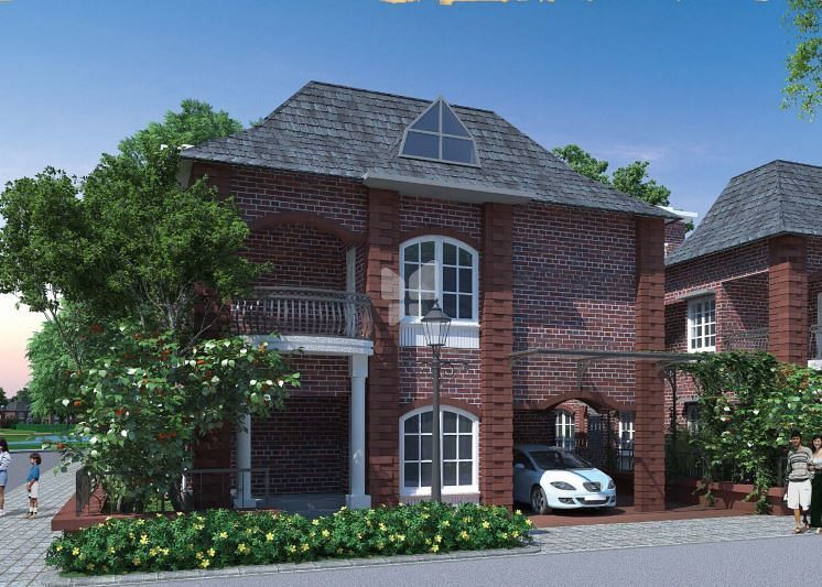 Prestige Lakeside Habitat Villa - Elevation Photo