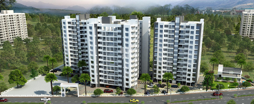 Balaji Alliance Whitefield Rainbow Nation - Elevation Photo