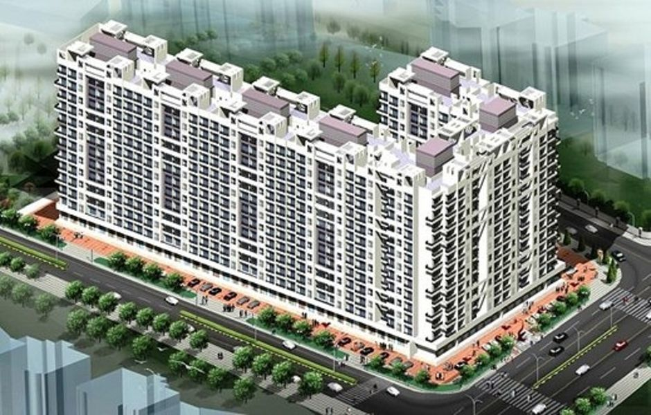 Parasnath Parshwa Heights F Wing - Elevation Photo