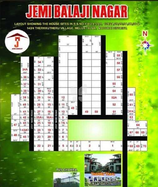 Jemi Balaji Nagar - Master Plans