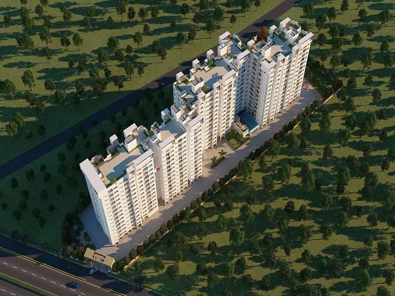 Svamitva Emerald Square - Elevation Photo