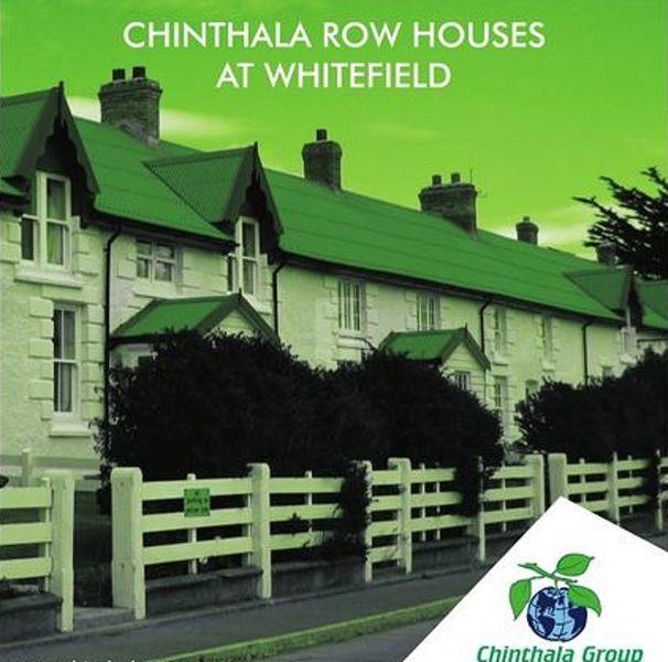 Chinthala Row Houses - Elevation Photo