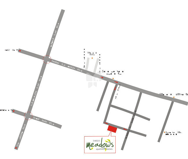 Saroj Meadows - Location Maps