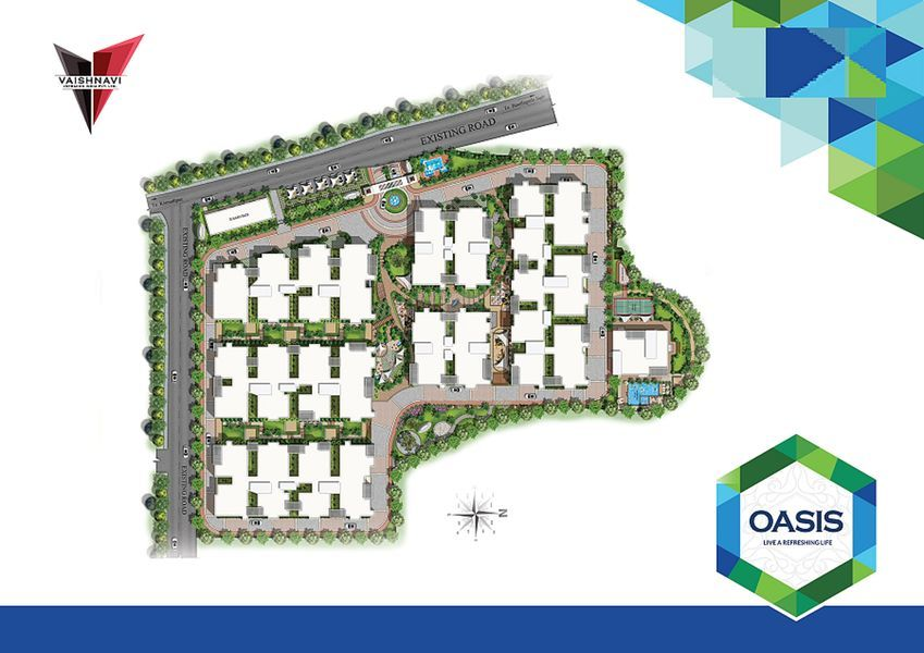 Vaishnavi Oasis @ Rs 42 Lakhs in Bandlaguda Jagir, Hyderabad by Vaishnavi  Infracon India Private Limited - Get TruePrice, Brochure, Amenities, Price