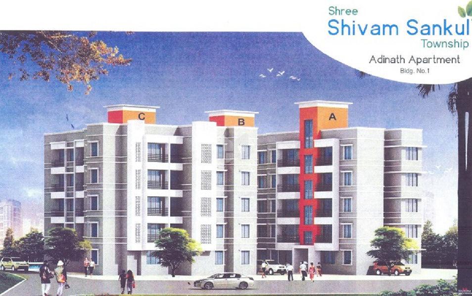 Hari Om Shree Shivam Sankul Township - Elevation Photo