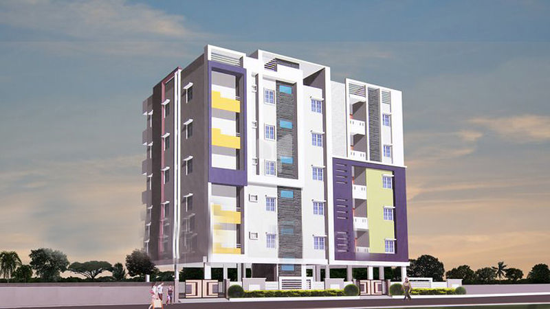 Venkat Residency - Elevation Photo
