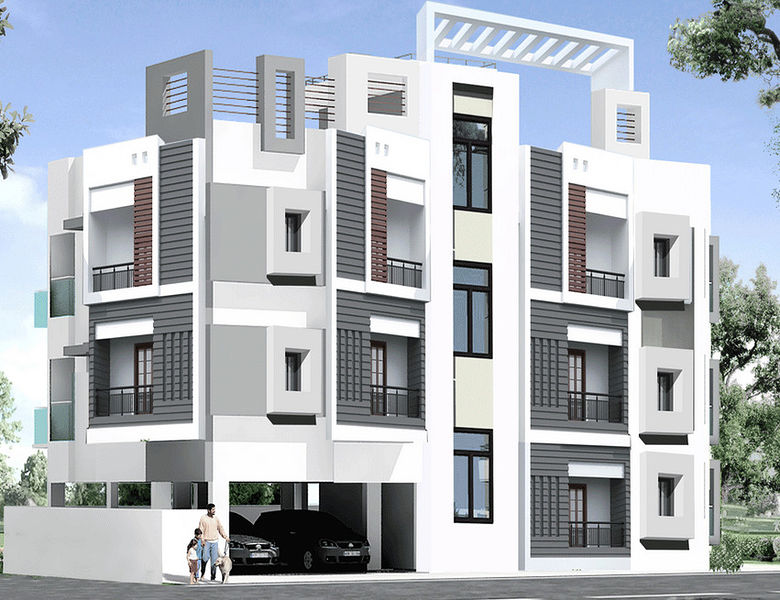 South India Properties-Aishwaryam - Elevation Photo