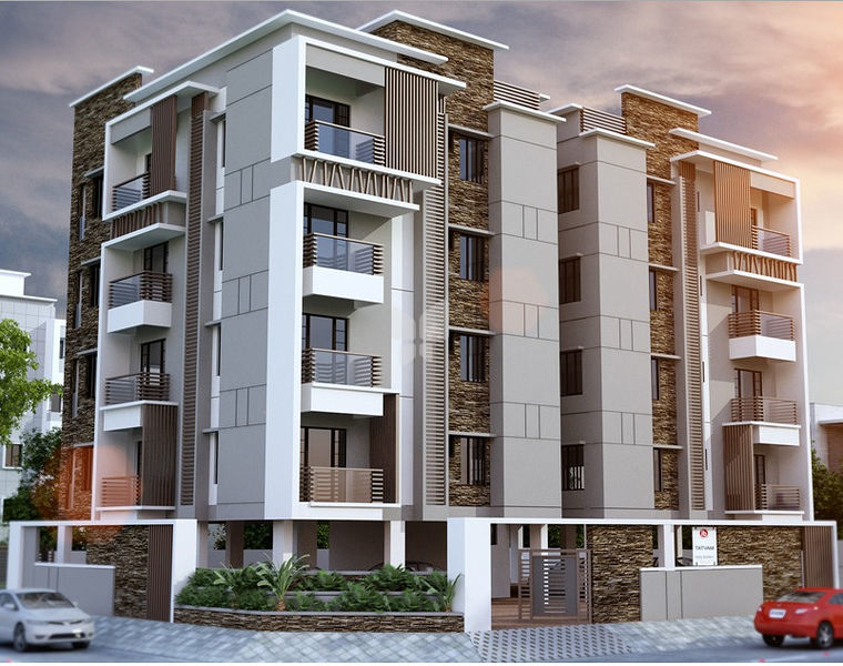 India builders tatvam in kilpauk chennai price floor for Indian apartment plans with elevation