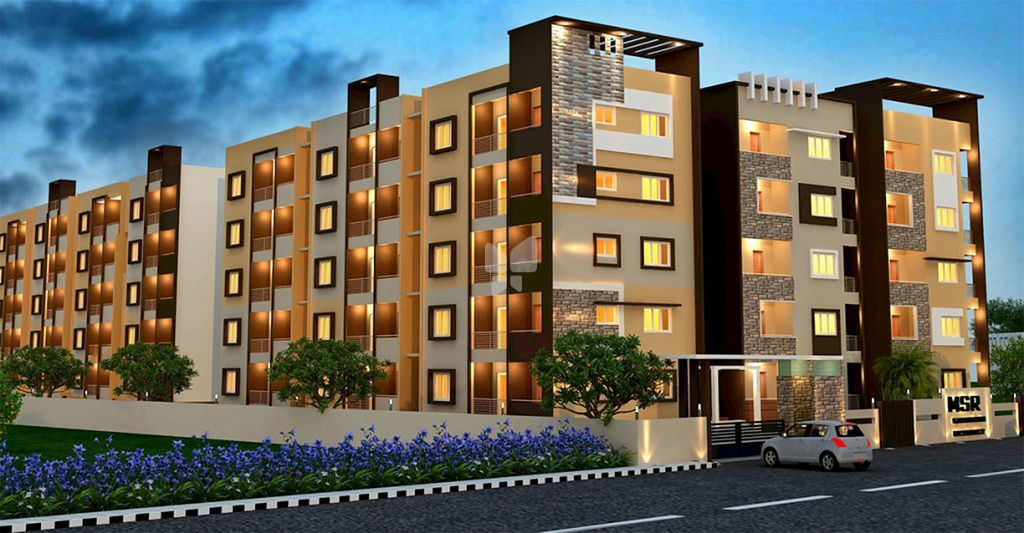 MSR Gangothri Residency - Elevation Photo